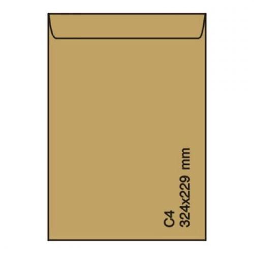 Plic C4 229*324 KRAFT gumat 90 gr.