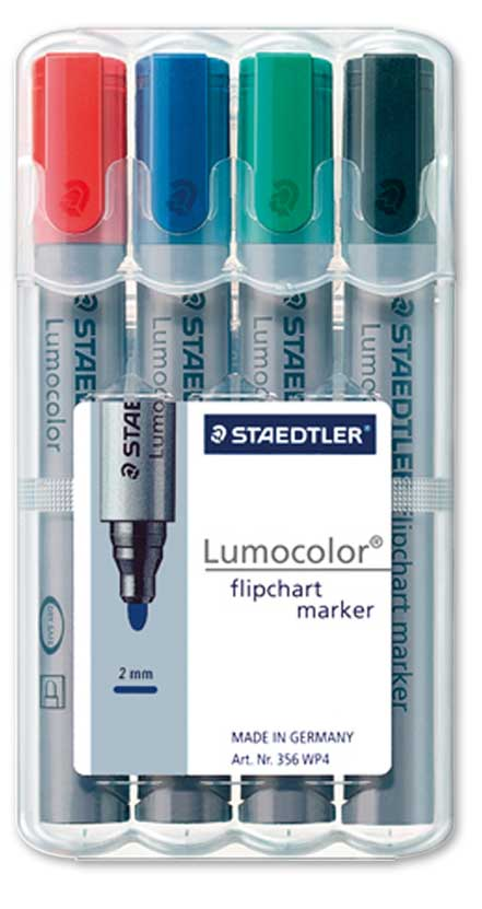 Set marker hirtie 2-5 mm /4culori/set STAEDTLER