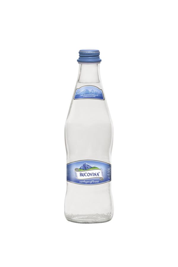 BUCOVINA Apa minerala 0.33 sticla