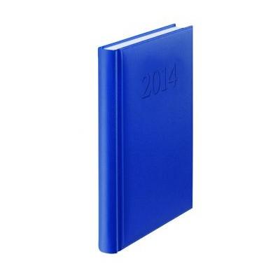Agenda 2014, zilnica datata, A5, albastru, HERLITZ