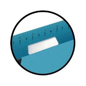 poza EEtichete albe pe format A4, microperforate, pentru dosare suspendate, 10coli/set, ELBA