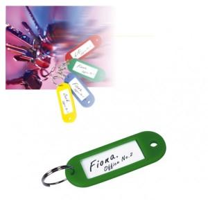poza Etichete pentru chei,  50/cutie, FOSKA - culori asortate