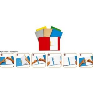poza Dosar carton color cu alonja arhivare de mare capacitate, JALEMA Secolor - rosu