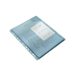 poza Mapa rigida cu eticheta, 3 buc/set, LEITZ Combi File - transparent
