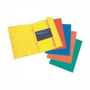 poza Mapa LUX din carton cu elastic, ESSELTE - rosu