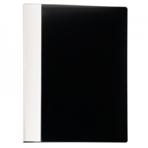 poza Mape de prezentare Intense, coperta rigida, 40 folii, negru