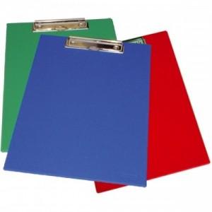 poza Clipboard dublu, plastifiat PVC, AURORA - rosu