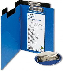 poza Clipboard PVC dublu albastru OFFICE POINT