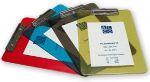 poza Clipboard simplu A4 /6 mm acril /A,G,fum,R ALCO