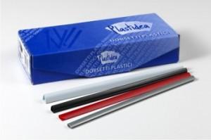 poza Bagheta A4 de legat doc. 3 mm, 100/set Plastidea - albastru