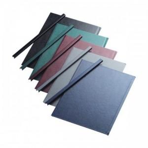 poza Sina metalica structura panzata, A4,  15-35 pag.( 5 mm)  5 buc/set, Metal -BIND OPUS - albastru