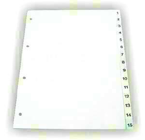poza Index plastic 1-10 EVD