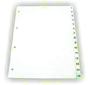 poza Index plastic 1-6 EVD