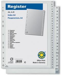 poza Index PVC A4 A-Z OFFICE POINT