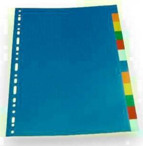 poza Separatoare  plastic 5 culori/set EVD