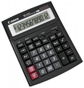 poza Calculator de birou, 12 digiti, CANON WS-1210T