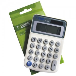 poza Calculator de birou, 8 digiti, T2000 TM6018
