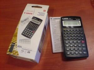 poza Calculator stiintific, 12 digiti, CANON F-604