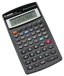 poza Calculator stiintific, 12 digiti, CANON F-720I
