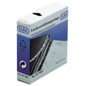 poza Inele PP autoadezive pentru intarire gauri, D15mm, 500buc/set, ELBA