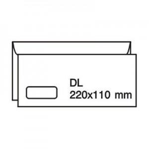 poza Plic C7(DL) 110*220 offset alb autoad. 80 gr. cu fereastra