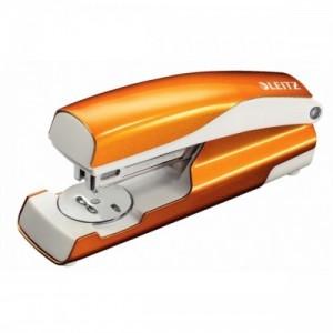 poza Capsator metalic, 30 coli, LEITZ 5502 - portocaliu metalizat