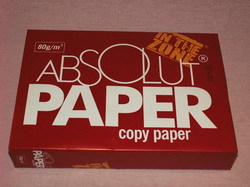 poza Hartie alba A4, 80gr/mp, 500 coli/top ABSOLUT PAPER  /  TRAFFIC