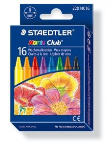 poza Creion color ceara 16 culori/set STAEDTLER