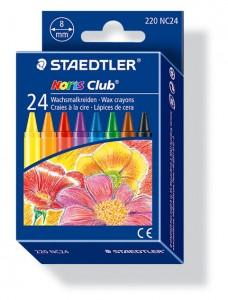 poza Creion color ceara 24 culori/set STAEDTLER