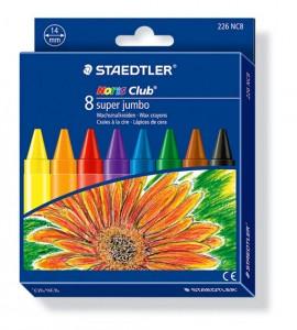 poza Creion color ceara Noris Club 8 culori/set STAEDTLER