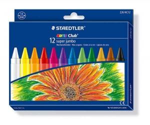 poza Creion color ceara Noris Club 12 culori/set STAEDTLER