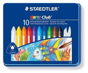 poza Creion color ceara Triplus 10 culori/set STAEDTLER