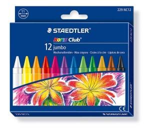 poza Creion color ceara Noris Club Jumbo 12 culori/set STAEDTLER