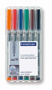 poza Set lumocolor nepermanent - M 0.8-1mm /6 culori/set STAEDTLER