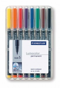 poza Set lumocolor permanent  - S 0.4 mm /8 culori/set STAEDTLER