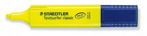 poza Text marker 1-5mm /A,G,Or,R,Rz,V,Vi,Tq STAEDTLER