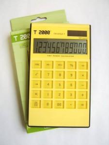 poza Calculator 12 dig,  design ultra modern, format SLIM