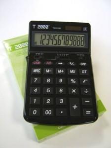 poza Calculator 12 dig, cu 4 taste de memorie si GT, cu tasta OFF