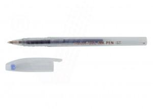 poza Pix transparent cu gel, 0.7 mm, MOLIN - albastru