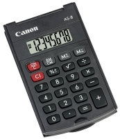 poza CANON AS8 HANDHELD CALCULATOR 8DIG