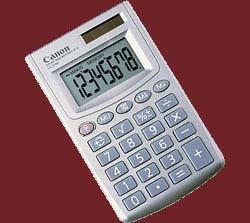 poza CANON LS270HBL CALCULATOR HAND 8DIG