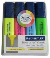 poza Set text marker Surfer cu suport 1-5mm /4 culori STAEDTLER