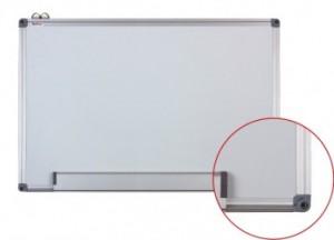poza Whiteboard magnetic cu rama din aluminiu, 120 x 240 cm, Optima