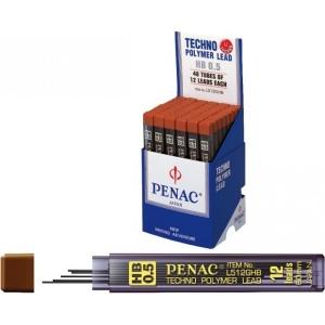 poza Mine pentru creion mecanic 0,5mm, 12/set, PENAC - HB