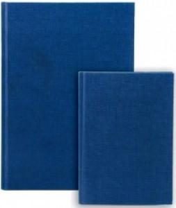 poza Repertoar A5, 96 file 70g/mp, coperti carton rigid, Business Blue - dictando