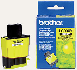 poza CARTUS YELLOW LC900Y ORIGINAL BROTHER MFC-410CN