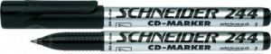 poza CD-marker  varf rotund, 0.7mm, SCHNEIDER 244 - negru