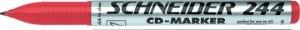 poza CD-marker  varf rotund, 0.7mm, SCHNEIDER 244 - rosu