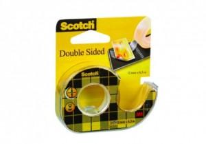 poza Scotch 12mm x 6m /dublu adeziv+dispenser 3M