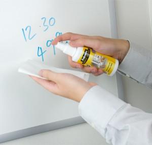 poza Spray pentru whiteboard 125 ml + 20 servetele FELLOWES